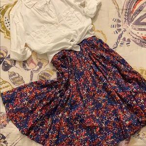 Dresses & Skirts - Multicolor dots circle skirt